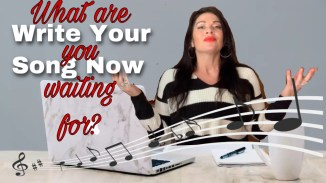 what are you waiting for write your song now rita slanina blog