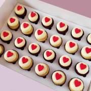 Valentines Day Mini Cupcake Recipe