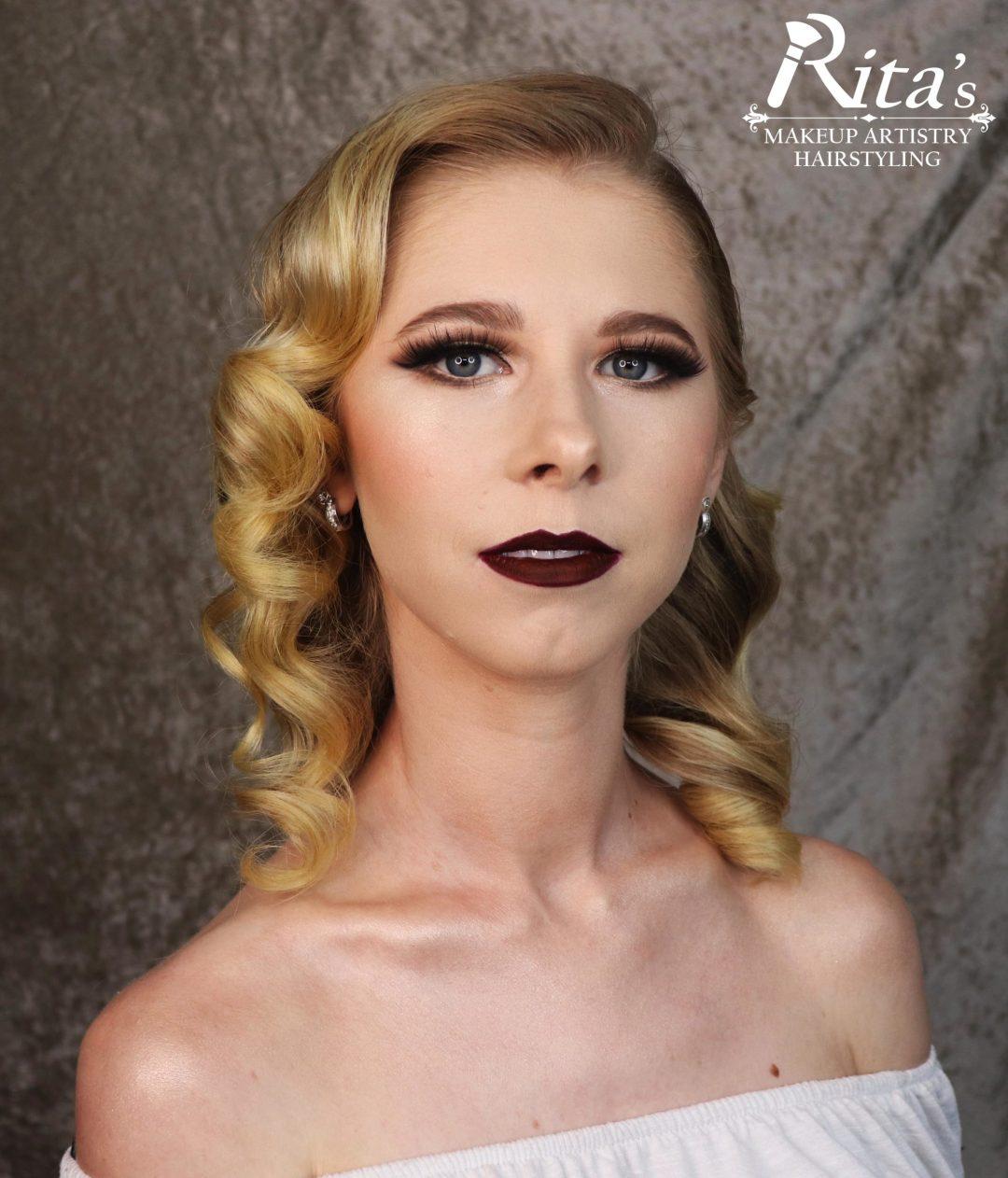 Billie Erin Model with Rita's Makeup Artistry