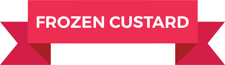 Frozen Custard Product Banner