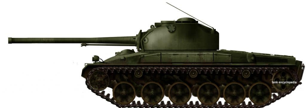 Panzer 58 second prototype by tank encyclopedia's own David Bocquelet