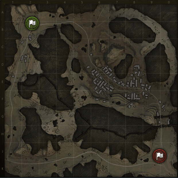 Empire's Border Minimap