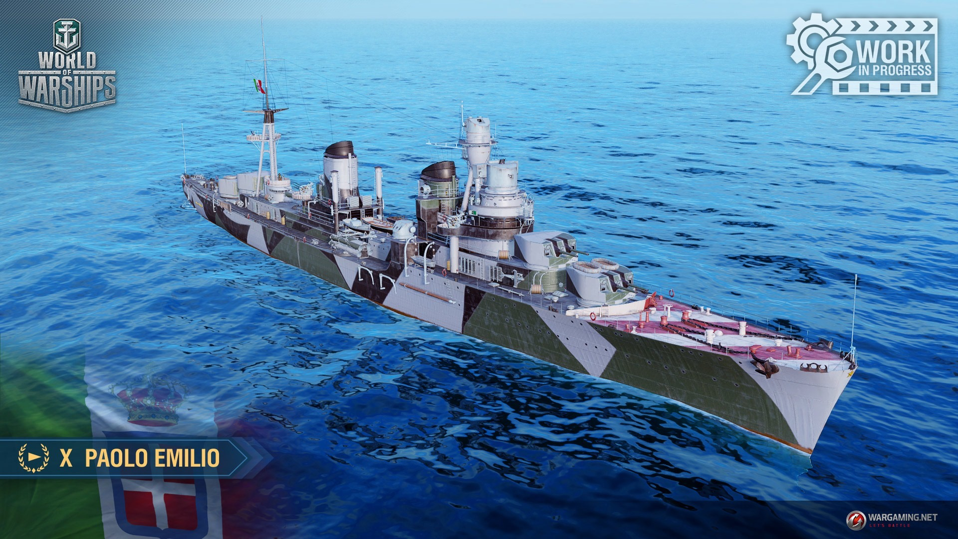 Italian Cruisers in WoWS « Status Report