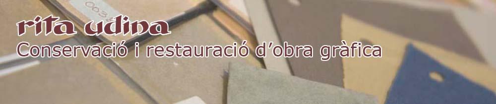 Curs de reintegració i retoc en restauració de paper (2016)