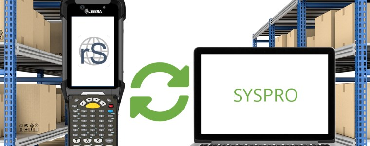 riteSCAN 8 and SYSPRO seamlessly integrate in real time.