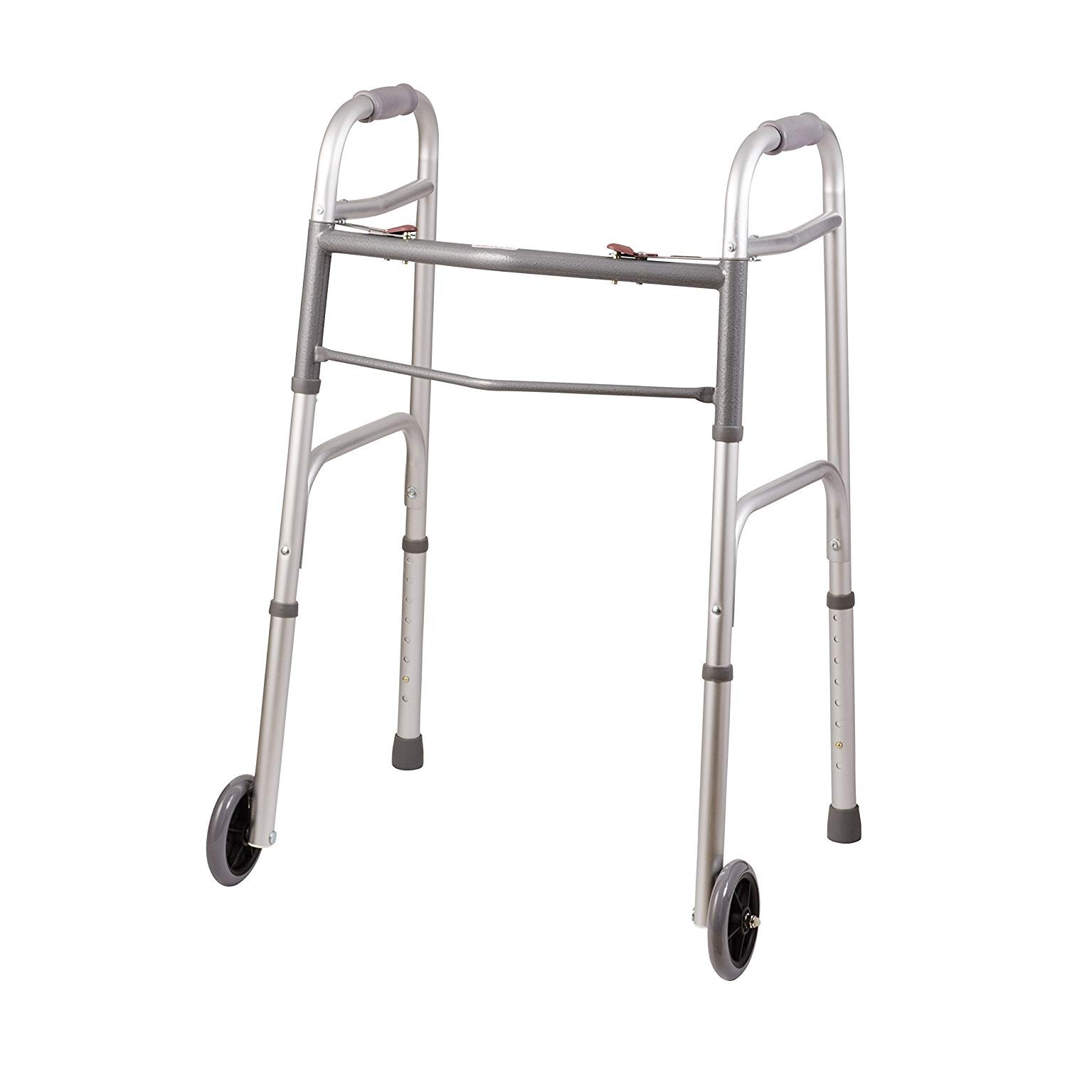 Buy Onile Trigger Release Walker With 5 Inch Fixed Wheels