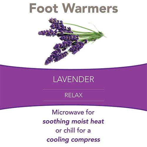 carex foot warmers lavender riteway medical