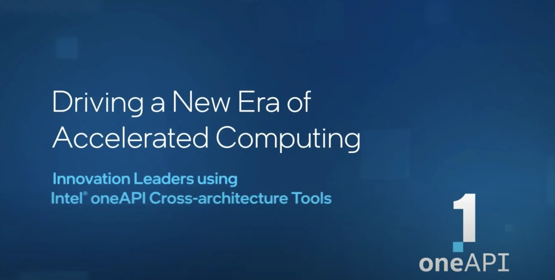 Innovation Leaders Using Intel Oneapi Cross Architecture Tools Ritme