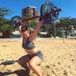 Morgana Poffo é uma atleta praticante do crossfit