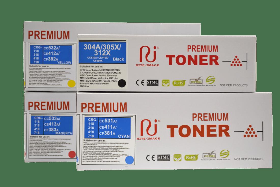Rite Image Hp 312X/ Hp 305X/ Hp 304A Premium Compatible Toner Cartridge