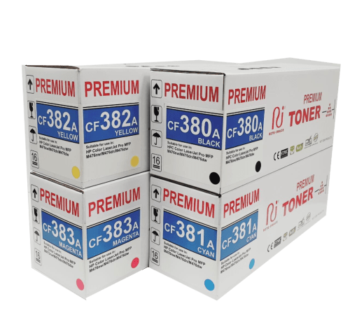 Hp premium 312A compatible toner cartridge