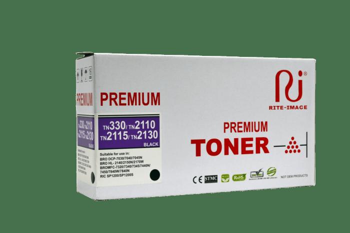 Rite Image Brother TN330/ TN2110/ TN2115/ TN2130 Premium Compatible Toner Cartridge