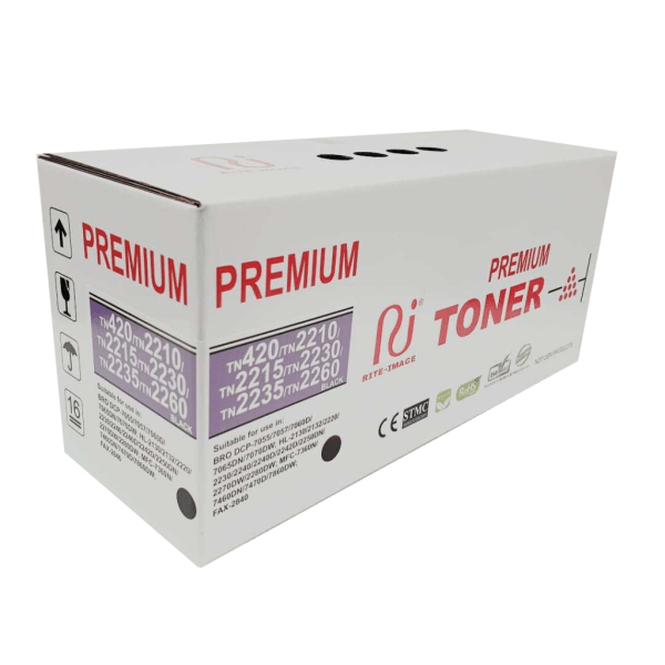 Brother premium TN420 compatible toner cartridge