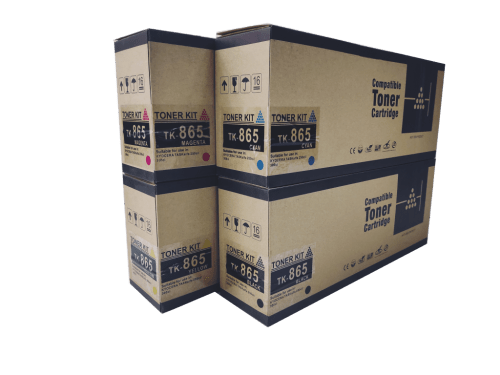 Kyocera Mita TK865 compatible toner cartridge