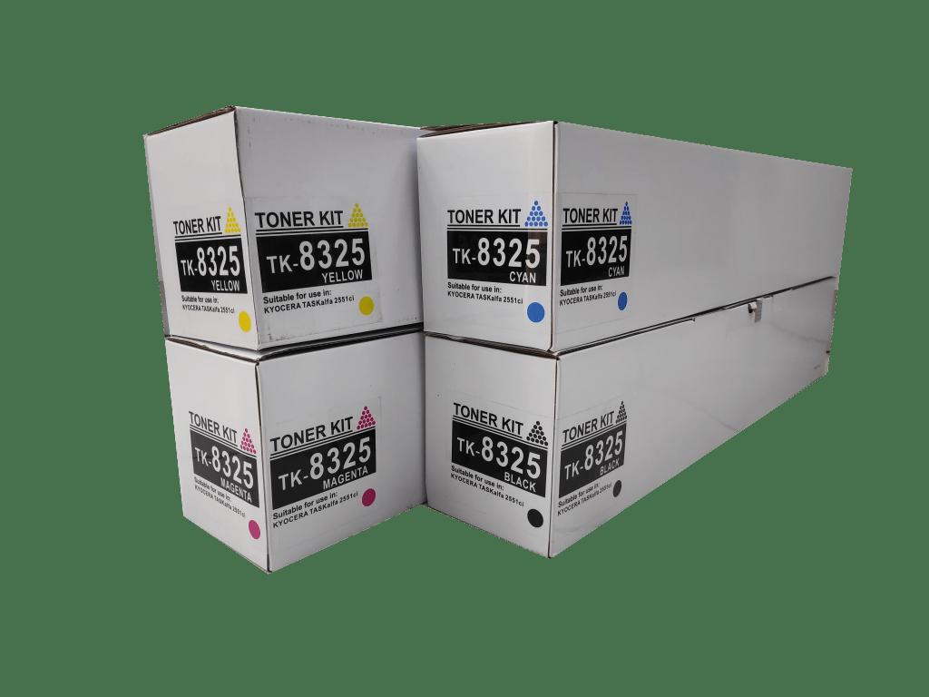 Kyocera mita TK 8325 compatible toner cartridge