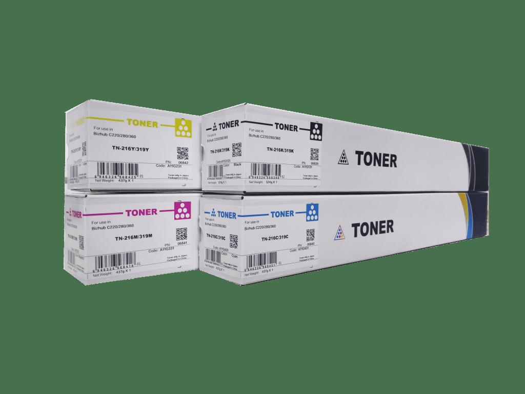 CET Konica Minolta TN216/ Konica Minolta TN319 compatible toner cartridge