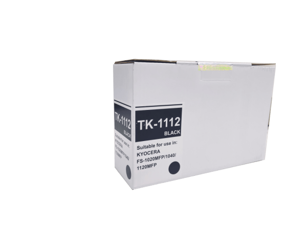 Kyocera Mita TK1112 compatible toner cartridge