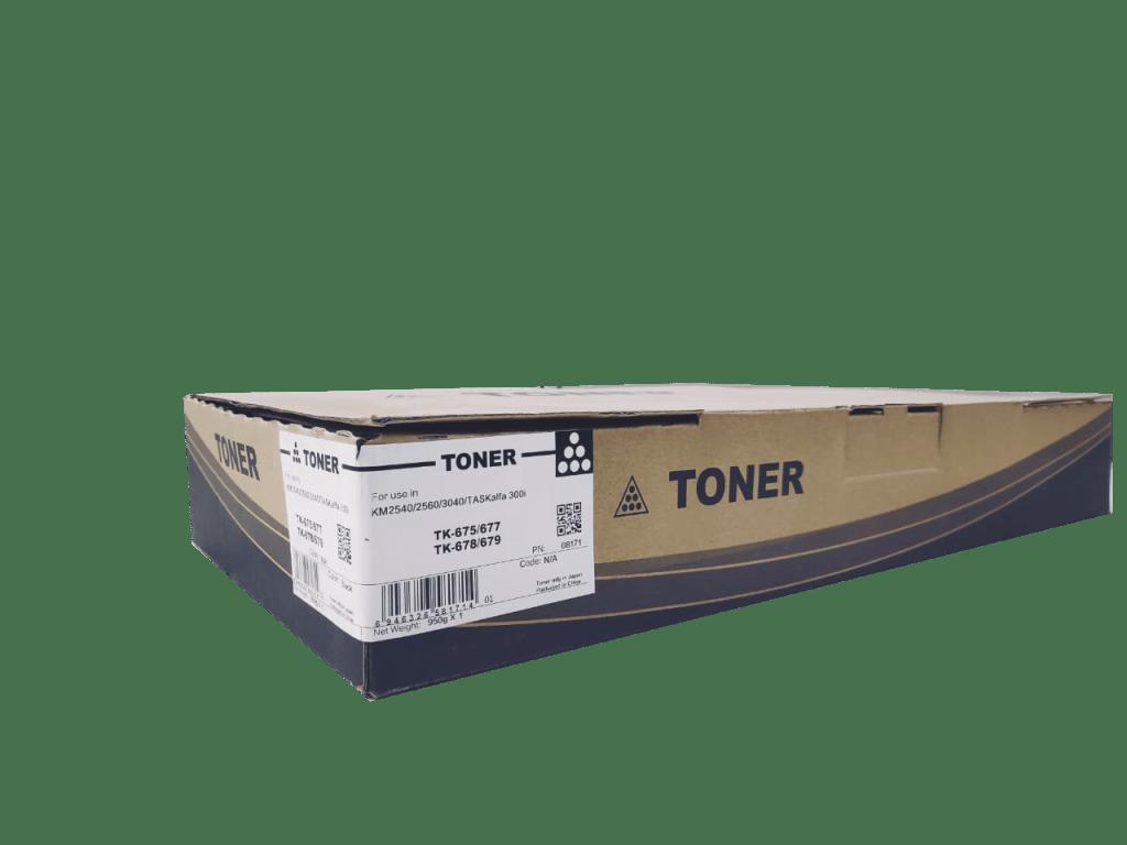 Kyocera Mita TK675/ TK677/ TK678/ TK679 Compatible Toner Cartridge