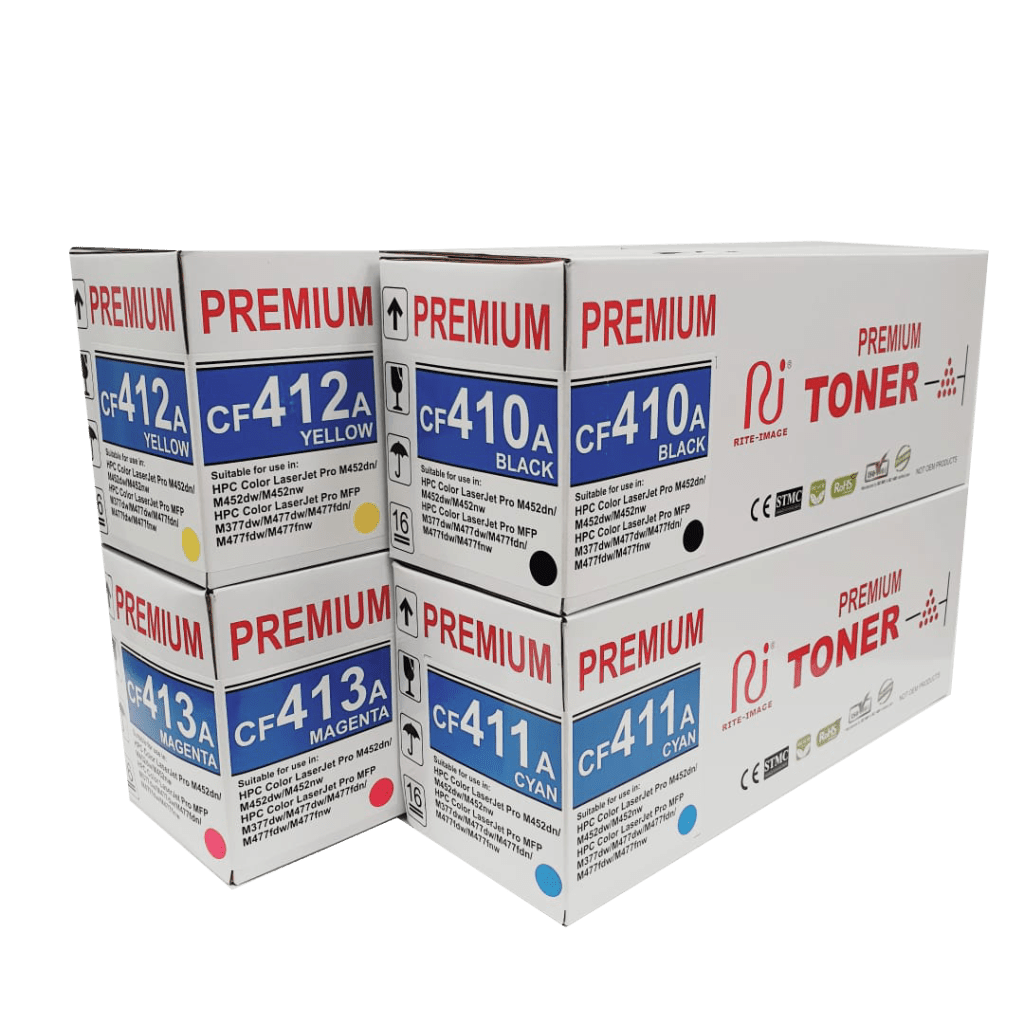 LaserJet MFP M377dw MFP M477fdn M477fdw BULK Toner Refill for HP 410A CF410A