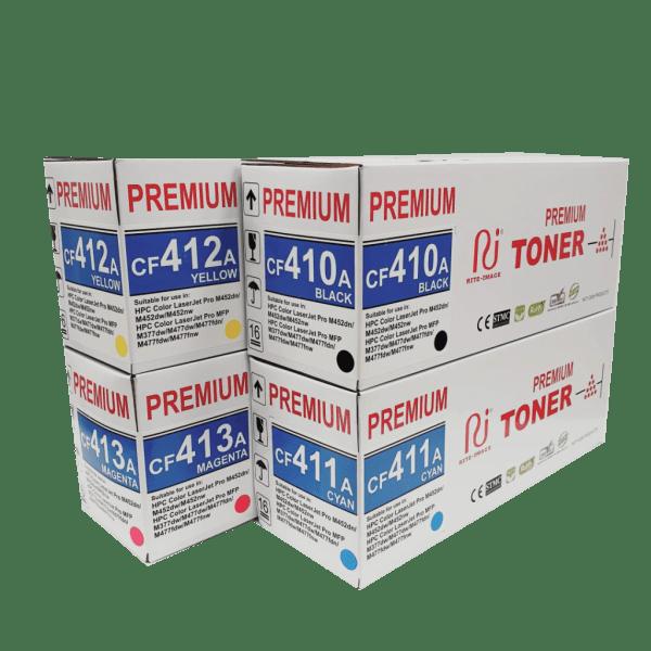 Hp compatible CF410A toner cartridge