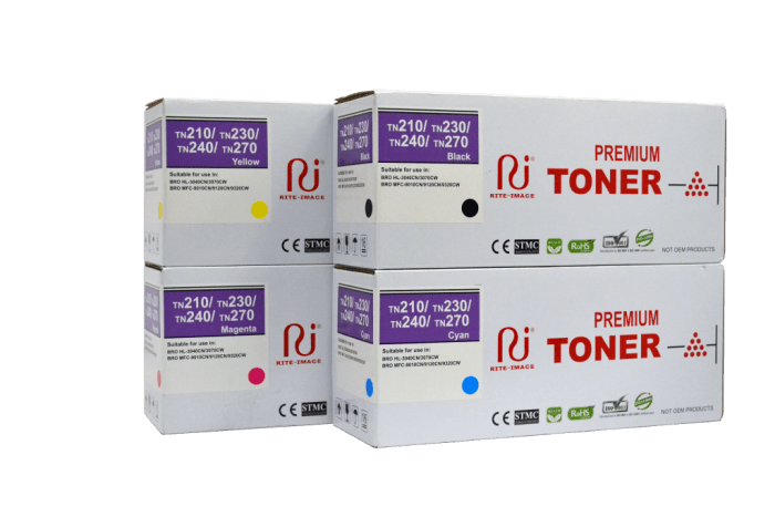 Brother TN210 / Brother TN230/ Brother TN240/ Brother TN270 Premium Compatible Toner Cartridge
