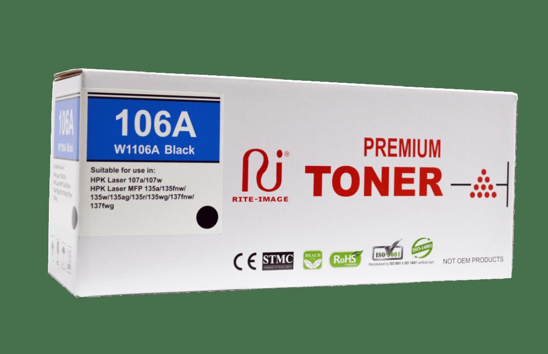 Rite Image Hp W1106A Compatible Toner Cartridge