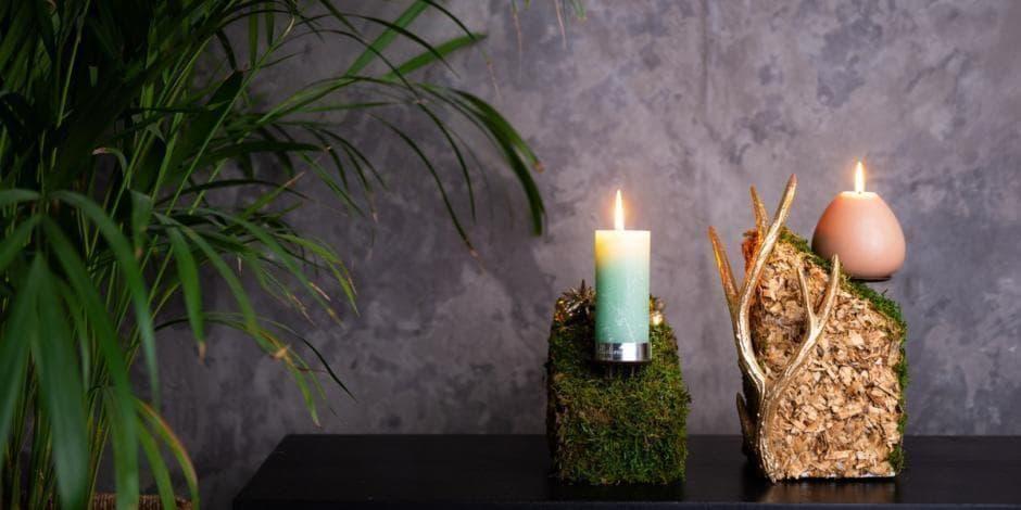 Kalėdinės žvakės. Autorė Rita Naujalienė