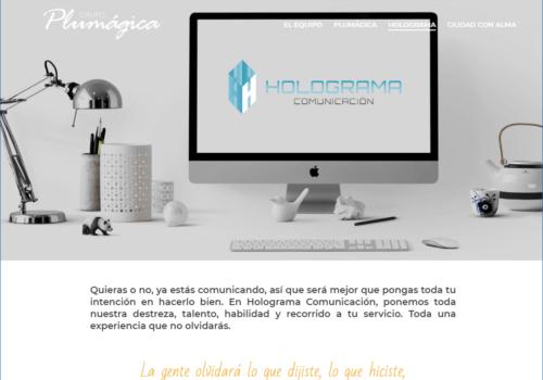 Web Holograma