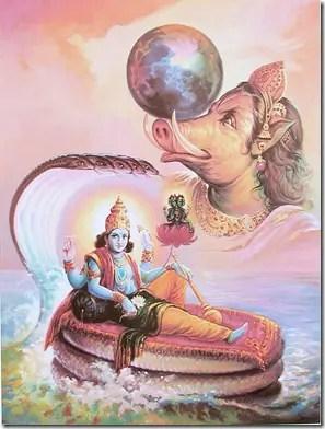 Varaha avatar of Lord Vishnu