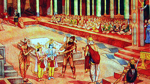 Rama and Parshurama's confrontation