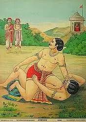 Jarasandh Vadha - Bheema in Mahabharat