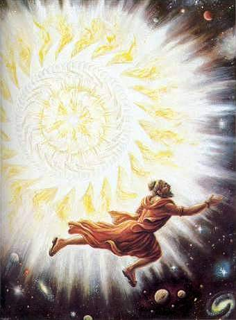 Sudarshan Chakra chasing Durvasa