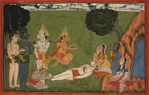 Tara curses Lord Rama