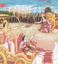 Arjuna kills Karna