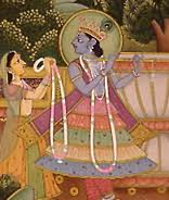 Pahari miniature painting