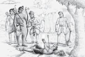 Death of Bali (Vali)