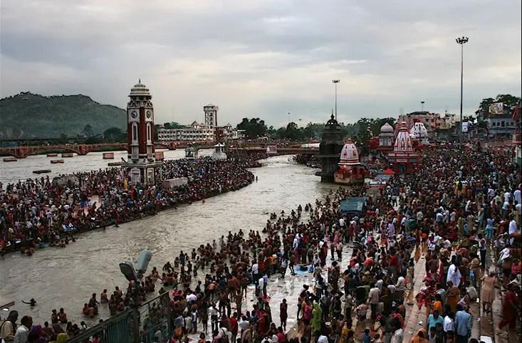 Kumbh mela at Haridwar