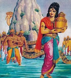 churning of ocean - Mohini