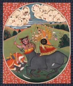 Durga and Mahishasura