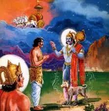 Yudhisthira and Dharmaraj