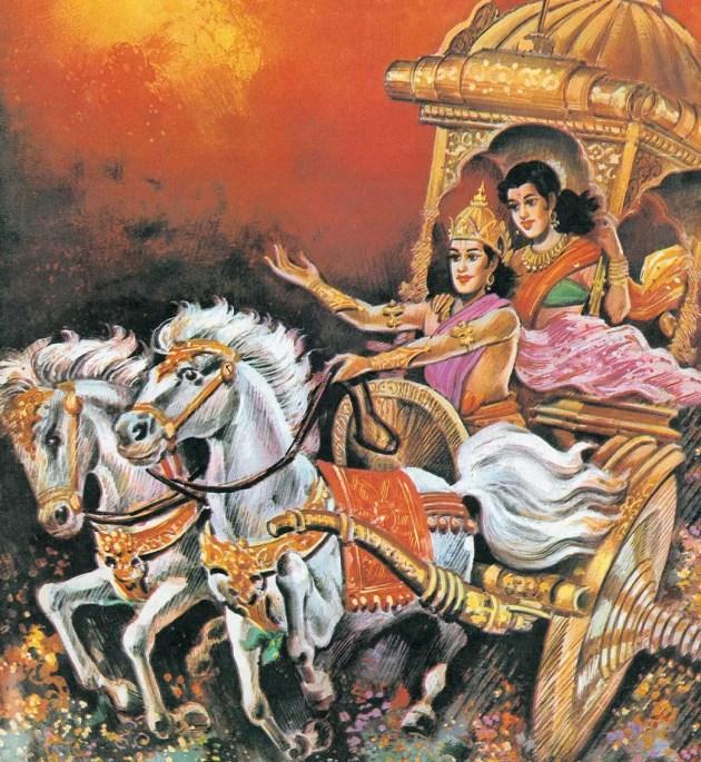 Nala and Damyanti