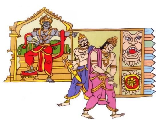 Ravana and Vibheeshana