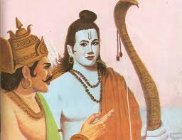 Rama observes Lanka