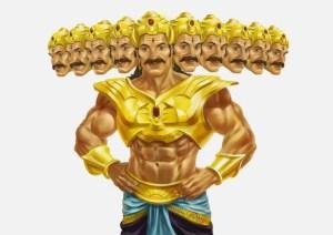 Ravana comes to battle field