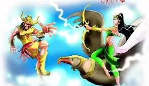 Satyabhama and Narakasura