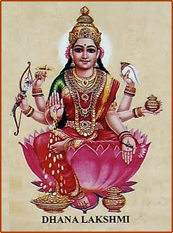 Dhana Lakshmi _ The provider of wealth and prosperity