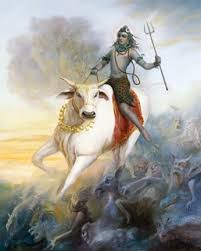 Nandi and Lord Shiva