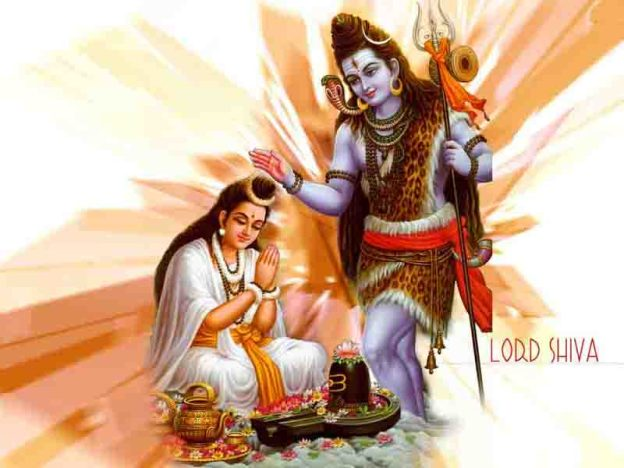 Ketaki and Lord Shiva