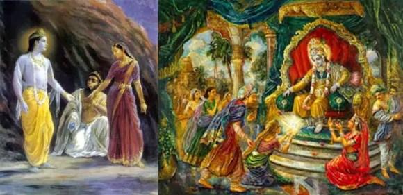 Lord Krishna - Syamantaka Jewel and his marriage to Jambavati