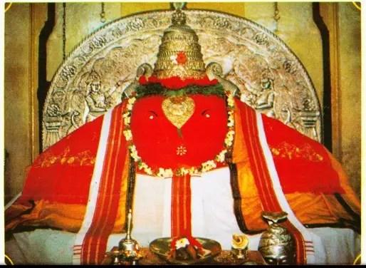 Sri Ballaleshwar temple of Lord Ganesha